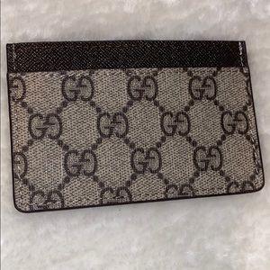 Gucci monogram slim Card Holder